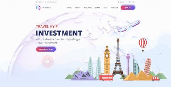 Travula - Travel Investment Templates
