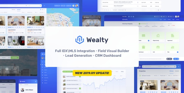 Wealty - Multipurpose Real Estate WordPress Theme - Real Estate WordPress
