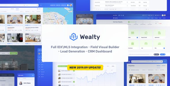 Download Wealty - Multipurpose Real Estate WordPress Theme