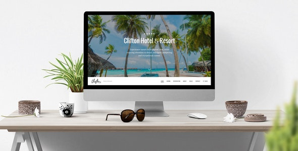 Clifton Hotel - One-Page Parallax HTML5 Travel Booking Template - Travel Retail