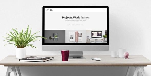 Three Agency – Responsive HTML5 Portfolio for Creatives - Creative Site Templates