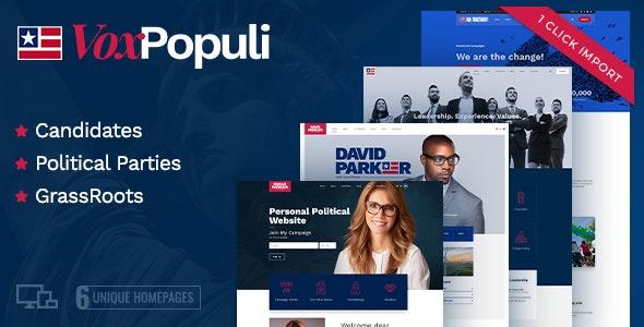 Vox Populi - Political Party, Candidate & Grassroots - Political Nonprofit