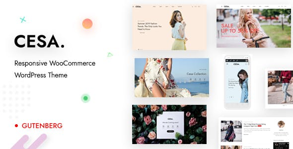 Cesa - Gutenberg WooCommerce WordPress Theme