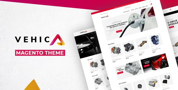 Vehic - Electric Vehicles Parts Magento 2 Theme - Technology Magento