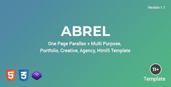 Abrel - Multi Purpose Html Template - Portfolio Creative