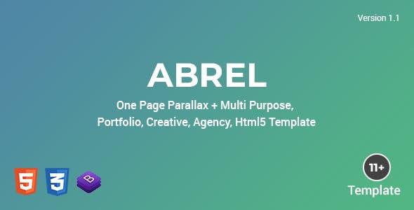 Abrel - Multi Purpose Html Template