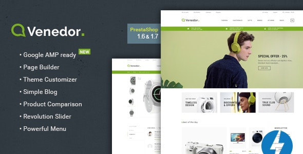 Venedor - Prestashop AMP Theme by Promokit | ThemeForest