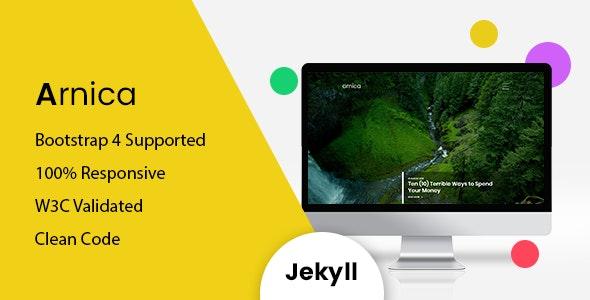 Arnica - Responsive Jekyll Blog Theme - Jekyll Static Site Generators