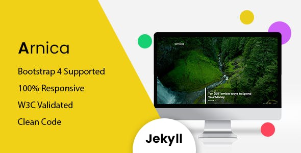 Download Arnica - Responsive Jekyll Blog Theme