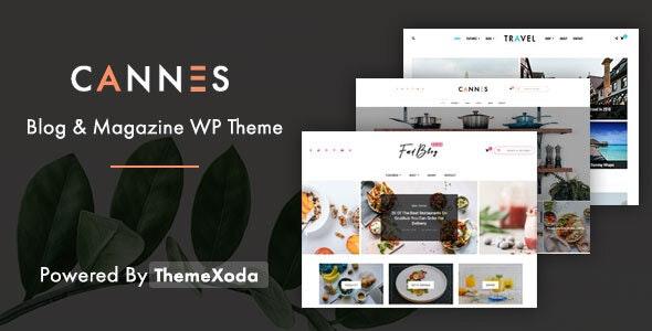 Cannes - Blog News and Magazine WordPress Theme - Blog / Magazine WordPress