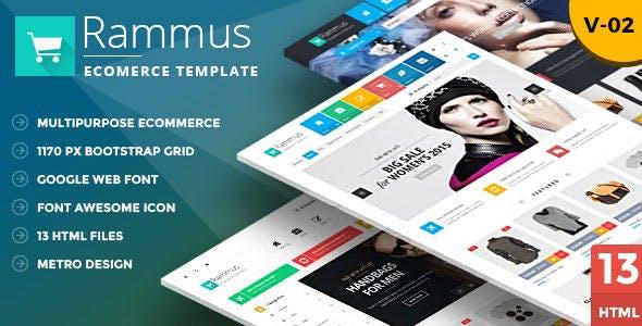 Rammus - Fashion Boutique Store HTML Template