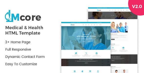 Medicore – Medical & Health HTML Template - Health & Beauty Retail