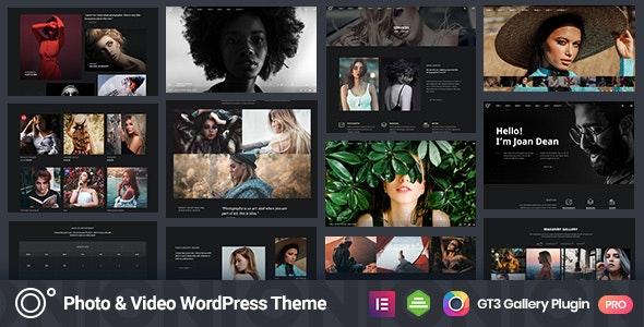 Oni | Photography Agency WordPress Theme - Photography Creative