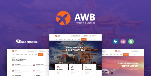 AWB - Transport & Logistics WordPress Theme - Business Corporate