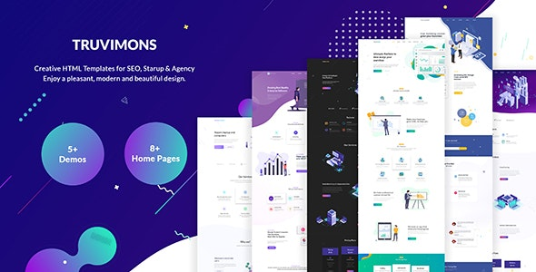 Truvimons | Creative Agency HTML Template - Creative Site Templates