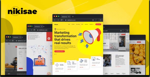 Nikisae - Digital Marketing Agency HTML Template - Marketing Corporate