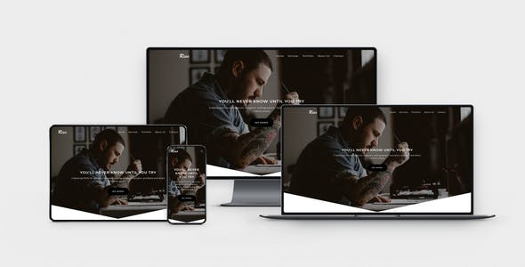 Download RISE - Creative Muse Template