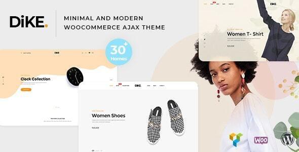 Dike - Minimal and Modern Shopify AJAX Theme - Fashion Shopify