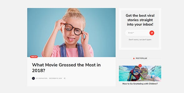 Virala - Viral Magazine WordPress Theme