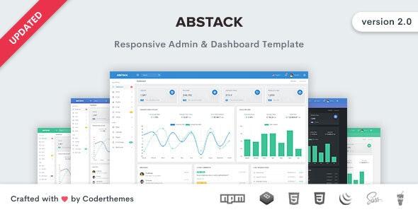 Abstack - Admin & Dashboard Template - Admin Templates Site Templates