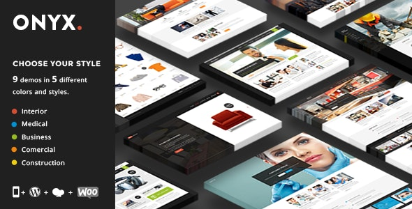Onyx - Multi-Concept Business Theme - Business Corporate