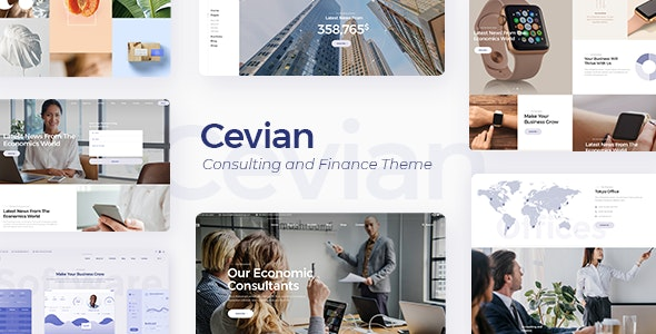 Cevian - Creative Agency and Startup Theme - Business Corporate