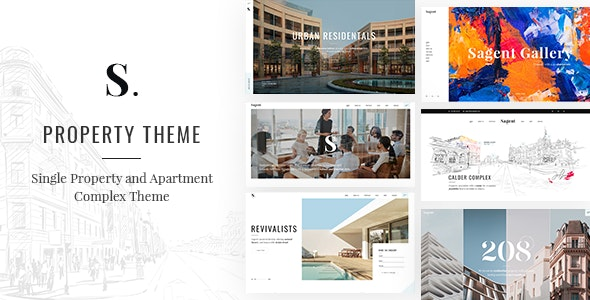 Sagen - Single Property and Apartment Complex Theme - Real Estate WordPress