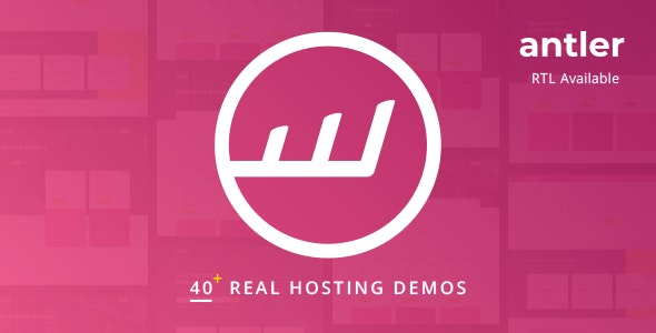 Antler - Hosting Provider & WHMCS Template by inebur
