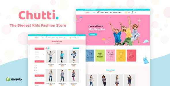 Chutti - Kids Shopify Theme by BuddhaThemes | ThemeForest