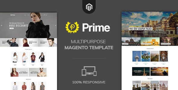 Prime Fashion Multipurpose  Magento2 Theme - Fashion Magento