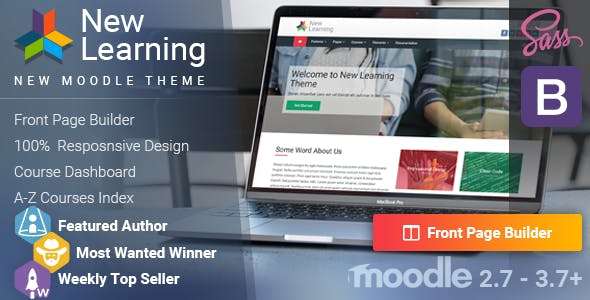 Moodle LMS Themes from ThemeForest