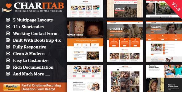 Charitab - Charity NonProfit HTML - Charity Nonprofit