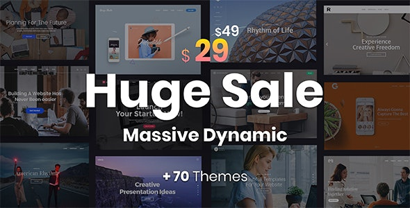 Massive Dynamic - WordPress Website Builder by Pixflow