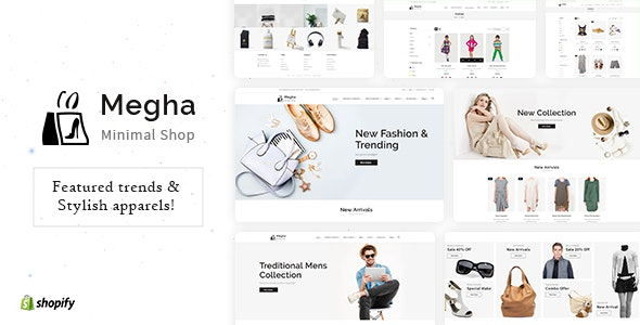 Megha - Fashion Store Shopify Theme by BuddhaThemes