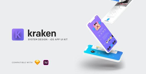 Kraken - iOS App UI Kit by Nublislabs | ThemeForest