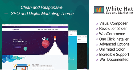 WhiteHat - Digital Marketing Theme - Marketing Corporate