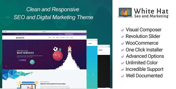 WhiteHat - Digital Marketing Theme