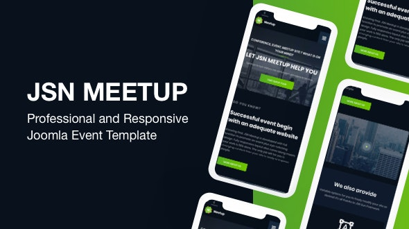 JSN MeetUp - Professional and Responsive Event Joomla Template - Business Corporate