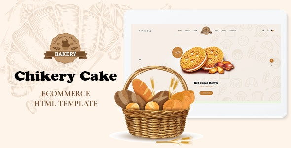 Chikery - Bakery HTML5 Template - Food Retail