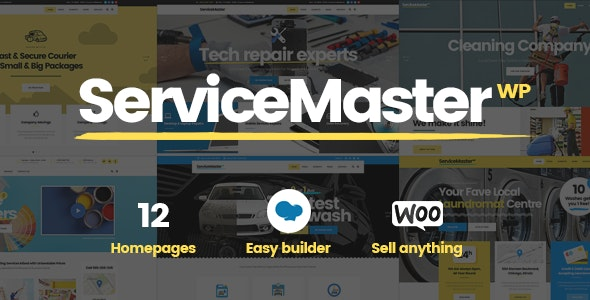 Service Master - Handyman Theme - Business Corporate