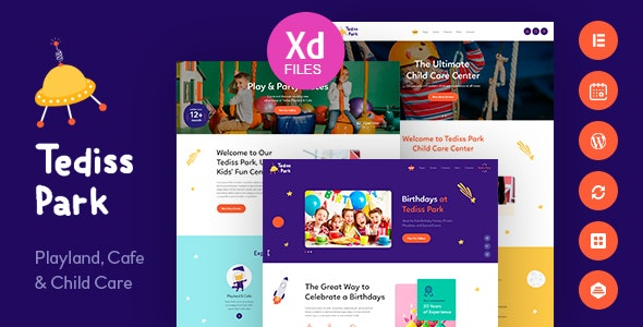 Tediss | Play Area & Child Care Center WordPress Theme - Children Retail