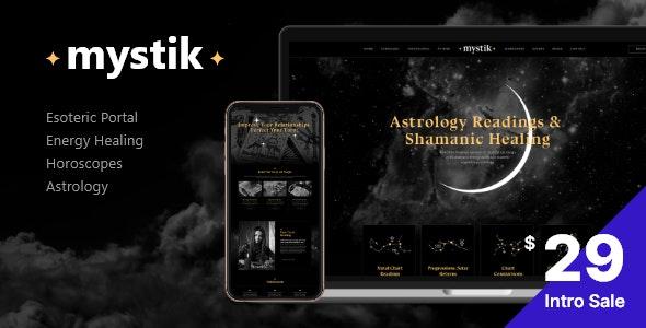 Mystik | Astrology & Esoterics Horoscope WordPress Theme by