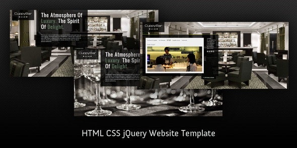 Coffee House HTML5 website template - Restaurants & Cafes Entertainment