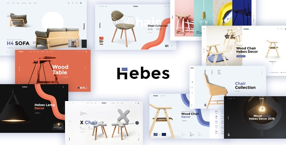 HEBES - Multipurpose Ecommerce HTML Template - Retail Site Templates