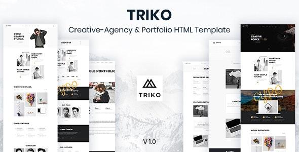 Triko - Creative Agency  HTML Template - Business Corporate