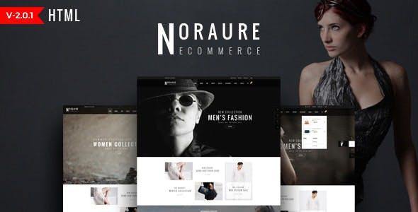 Fashion Clothing HTML Template - Noraure