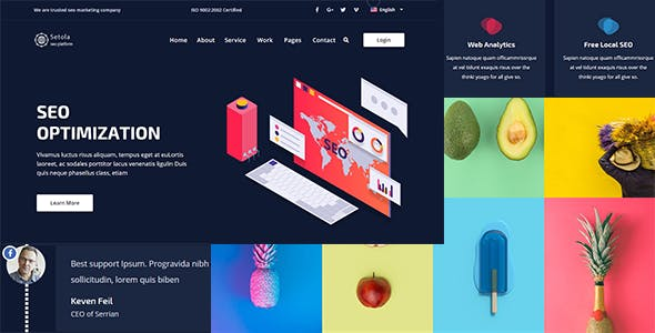 Setola - Creative Multipurpose Agency Template