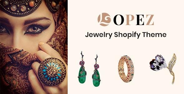Lopez Jewelry Shopify Theme