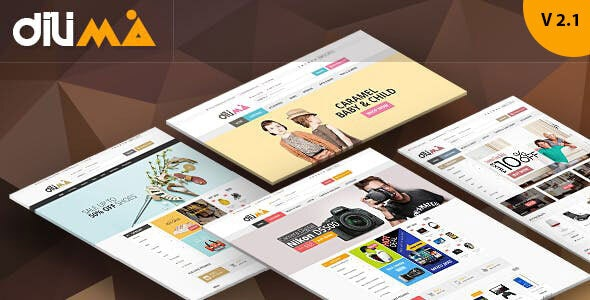 Dilima - Electronics Fashion Store HTML Template - Shopping Retail
