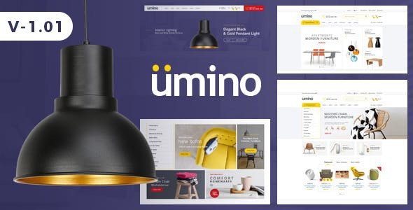 Furniture & Interior eCommerce Bootstrap 4 Template - Umino - Shopping Retail